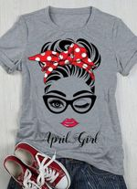 April girl tshirt