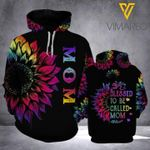 Mom blessed to be called mom hoodie