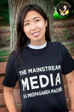 The mainstream meadia is a propagada machine t-shirt