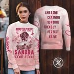Nobody is Sandra you are pretty awesome charming sunshine friendly native 3D t-shirt