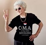Oma is my name spoiling is my game dutch grandmother shirt
