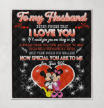 Mickey To My Husband Never Forget That I Love You Your Wife-Tm