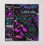 To My Daughter Never Forget That I Love You Dad Family