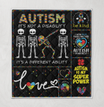 Autism Its Not A Disability Its A Different Ability Dad Skeleton Autism Awareness (1)