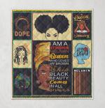 I Am Black History Month Black Girl Magic Afro Melanin Queen