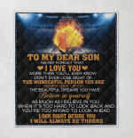Basketball To My Dear Son Never Forget That I Love You More Than You Will Ever Know I Always Be There