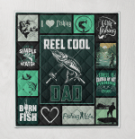 Reel Cool Dad I Love Fishing Born To Fish Fathers Day Gift
