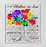 To My Mother In Law If Could Give You One Thing I Would Give Ability To See Yourself Through My Eyes Daughter In Law Colorful Tree