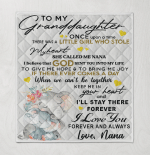 To My Granddaughter Once Upon Time There Was A Little Girl Who Stole My Heart Called Me Nana Love Forever And Always Nana Elephant