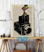 Camera Captures Your Magical Day To Day Moments Poster poster canvas