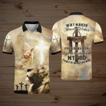 Way Maker Miracle Worker My God 3D Designed Allove Gift For God Lovers Polo shirt