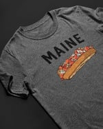 Maine Delicious Hot Sauce Burger Hot Lots Of Greens T Shirt Best Gift For Friend Tshirt