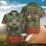 Camping God Is Great Beer Is Good And People Are Crazy 3D Designed Allove Gift For Camping Lovers Beer Lovers Hawaiian Shirt