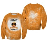 Coolest Pumpkin In The Patch Orange Drop Painting 3D Designed Allover Gift For Halloween Holiday Lovers Sweater