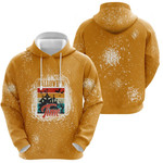 Halloween Time Night Castle Gold 3D Designed Allover Gift For Halloween Holiday Lovers Hoodie