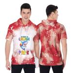 Back To School Im ready to crush Pre K Shark 3D Designed Allover Gift For Pre K School Kids Short Sleeve Hoodie