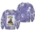 Back To School Im ready to crush Kinder Garten Dinosaur 3D Designed Allover Gift For School Kids Sweater