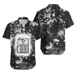Halloween Coffee Drinking Skeleton Skull Smoke Black 3D Designed Allover Gift For Halloween Holiday Lovers Hawaiian Shirt