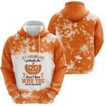 A Grandmother Pretends she Doesnt Know Who You Are On Halloween Pumpkins Orange 3D Designed Allover Gift For Halloween Holiday Lovers Hoodie