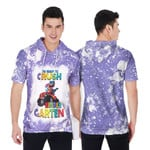 Back To School Im ready to crush Kinder Garten Dinosaur 3D Designed Allover Gift For School Kids Short Sleeve Hoodie