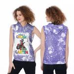 Back To School Im ready to crush Kinder Garten Dinosaur 3D Designed Allover Gift For School Kids Sleeveless Dress