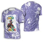 Back To School Im ready to crush Kinder Garten Dinosaur 3D Designed Allover Gift For School Kids 3D T-shirt