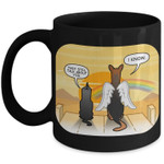 They still talk about you I know angel dog seeing beautiful rainbow drinking mug gift for dog lovers Ceramic Mug
