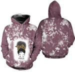 Mom Life Black Queen Afro 3D Designed Allover Gift For Afro Black Queen America Hoodie