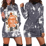 Happy Halloween Horror Pumpkins Witch Black 3D Designed Allover Gift For Halloween Holiday Lovers Hoodie Dress