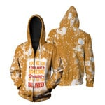 You Never Think About Someone Dressing For Halloween 3D Designed Allover Gift For Halloween Holiday Lovers Zip Hoodie
