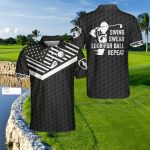 Swing swear look for ball repeat playing golf for golfer jersey gift for golfers golf lovers Polo shirt