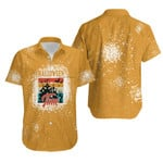 Halloween Time Night Castle Gold 3D Designed Allover Gift For Halloween Holiday Lovers Hawaiian Shirt