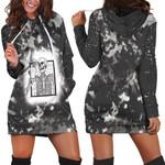 Halloween Coffee Drinking Skeleton Skull Smoke Black 3D Designed Allover Gift For Halloween Holiday Lovers Hoodie Dress