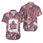 Spooky Squad Ghost Drop Painting Purple 3D Designed Allover Gift For Halloween Holiday Lovers Hawaiian Shirt