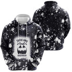 Trick And Treat Halloween Pumpkins Black Drop Painting 3D Designed Allover Gift For Halloween Holiday Lovers Hoodie