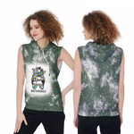 Autism Mom Life Lady Green Drop Painting 3D Designed Allover Gift For Autism Fighters Sleeveless Dress
