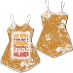 You Never Think About Someone Dressing For Halloween 3D Designed Allover Gift For Halloween Holiday Lovers Romper Jumpsuit