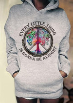 every little thing is gonna be alright colorful old big tree hoodie novelty gift for him for her Tshirt