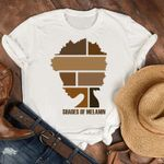 shares of melanin colored girls are divided into different color frames american african t shirt best gift for black girl Tshirt