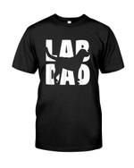 Lab dad with labrador funny labrador terrier Tshirt gift for labrador lovers dog lovers labrador dad labrador mom Tshirt