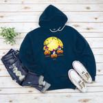 Halloween Dog pumpkin head Personalized Custom T-Shirt Sweatshirt Hoodie Gift for Dog Lovers