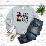 Witch Bad Witch Vibes Custom T Shirt Personalized Gift Halloween