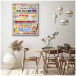 Classroom Wall Decor Canvas Dear Students I Believe In You poster canvas best gift for class lovers Poster