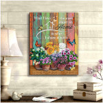 What I love the most about my home is who i share it with Family Wall Art Decor poster canvas best gift home lovers Poster
