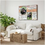 Before I met you I wanted you the moment I saw you I loved you personalized poster canvas gift for loved pet with custom photo Poster