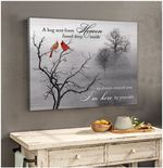 A hug sent from heaven I am here by your side Cardinals poster memorial gift for loss of someone loved Poster