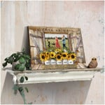 Personalized This Is Us sunflower poster canvas best gift with custom photo for family Poster