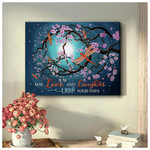 May Love and Laughter Light Your Days Dragonflies Motivational Poster Gift For God Believers Poster