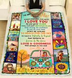 To My Daughter Remember How Much I Love You Always In The End Hippie Blanket Gift From Mom To Daughter Quilt Blanket