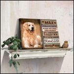 personalized Sometimes a very special dog Wall Art poster canvas memorial gift with custom photo and text for dog lovers Poster